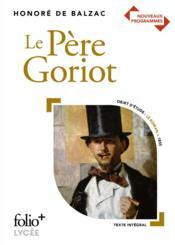 Le Père Goriot - Couverture - Format classique