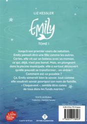 Emily T.1 - 4ème de couverture - Format classique