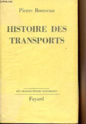 Histoire des transports -
