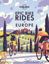 Epic bike rides of Europe (édition 2020) - Couverture - Format classique