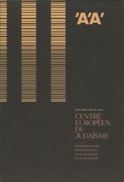 L'architecture d'aujourd'hui hs projects centre europeen du judaisme - ete 2020 - Couverture - Format classique