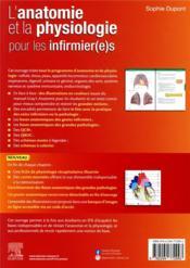 L'anatomie et la physiologie pour les infirmier(e)s (4e édition) - 4ème de couverture - Format classique