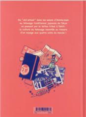 Lever l'encre : carnet de voyages et de tatouages - 4ème de couverture - Format classique