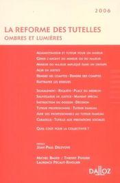 La réforme des tutelles ; ombres et lumières - Intérieur - Format classique
