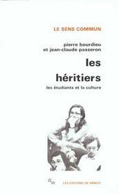 Les héritiers ; les étudiants et la culture - Intérieur - Format classique