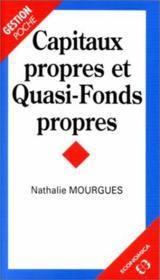 Capitaux Propres Et Quasi Fonds Propres - Couverture - Format classique