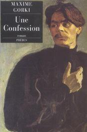 Une Confession - Intérieur - Format classique