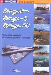 Les mirage iii, mirage 5 et mirage 50 en france et dans le monde - Intérieur - Format classique