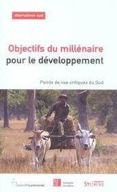Objectifs Du Millenaire Pour Le Developpement - Intérieur - Format classique