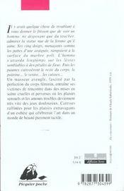 La bête aveugle - 4ème de couverture - Format classique