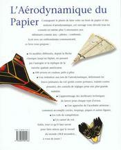 Avions En Papier : Records Du Monde A Portee De Tous - 4ème de couverture - Format classique