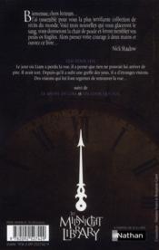 The midnight library t.12 ; oeil pour oeil - 4ème de couverture - Format classique