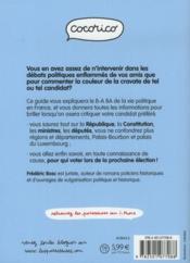 Politique des paresseuses - 4ème de couverture - Format classique