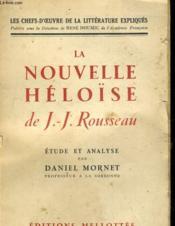 La Nouvelle Heloise De J.J. Rousseau - Couverture - Format classique
