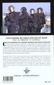L'encyclopedie des forces speciales t.1 - 4ème de couverture - Format classique
