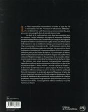 Pie VII face à Nopoléon ; la tiare dans les serres de l'Aigle - 4ème de couverture - Format classique