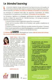 Le blended learning - 4ème de couverture - Format classique