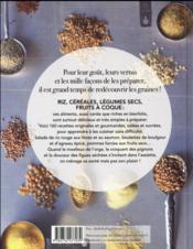Graines et compagnie ; 160 recettes gourmandes et bienfaisantes - 4ème de couverture - Format classique
