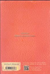 L'épouvanteur T.12 ; Alice et l'épouvanteur - 4ème de couverture - Format classique