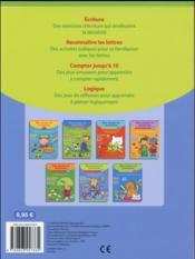 BLOC DE JEUX ET D'EXERCICES ; j'apprends les nombres et les mots - 4ème de couverture - Format classique