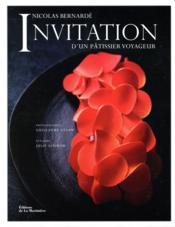 Invitation d'un pâtissier voyageur - Couverture - Format classique
