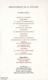 Théâtre t.1 - 4ème de couverture - Format classique