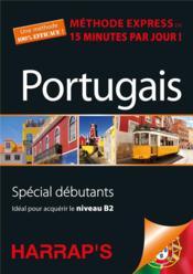 Harrap's méthode express portugais - Couverture - Format classique