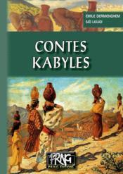Contes kabyles - Couverture - Format classique