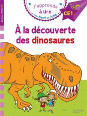 J'apprends à lire avec Sami et Julie ; à la découverte des dinosaures - Couverture - Format classique