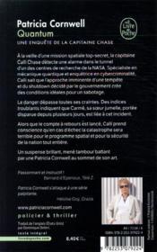Quantum - 4ème de couverture - Format classique