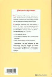 Word 2000 - 4ème de couverture - Format classique