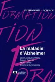 La maladie d'alzheimer - Couverture - Format classique