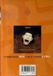 Beck t.17 - 4ème de couverture - Format classique