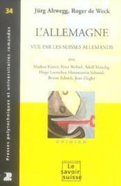 L'allemagne vue par les suisses allemands - opinion n 34 - Couverture - Format classique