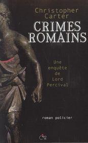 Crimes romains - Intérieur - Format classique