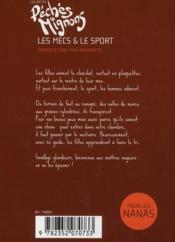 Les petits péchés mignons T.3 ; les mecs et le sport - 4ème de couverture - Format classique