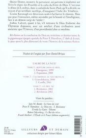 Le dieu nu - tome 2 - revelation - 4ème de couverture - Format classique