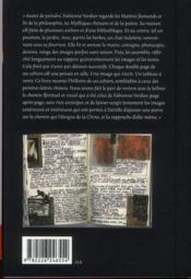 Fabienne Verdier et les maîtres flamands ; notes et carnets - 4ème de couverture - Format classique