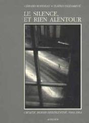 Le Silence, Et Rien Alentour - Couverture - Format classique