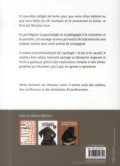 Maître et chien ; communiquer sans aboyer - 4ème de couverture - Format classique