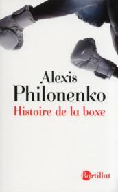 Histoire de la boxe - Couverture - Format classique
