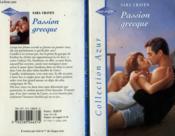 Passion grecque - Couverture - Format classique