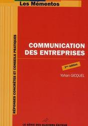 Communication des entreprises - Intérieur - Format classique