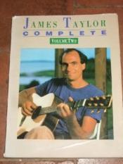 James taylor complete. Volume Two. - Couverture - Format classique