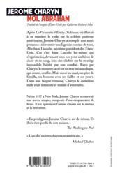 Moi, Abraham - 4ème de couverture - Format classique