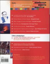Ultreïa ! N.6 ; la puissance des invocations sacrées - 4ème de couverture - Format classique