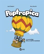 Poptropica T.1 ; le mystère de la carte magique - Couverture - Format classique