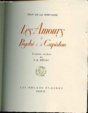 Les Amours De Psyche Et De Cupidon - Pointes Seches De P.-E. Becat. - Couverture - Format classique