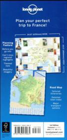 France planning map (édition 2017) - 4ème de couverture - Format classique