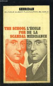 L Ecole De La Medisance- Collection Bilingue Aubier N°20 - Couverture - Format classique